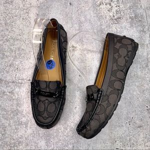 COACH | Black Loafers